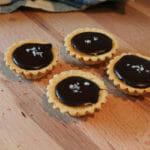 mini chocolate tarts