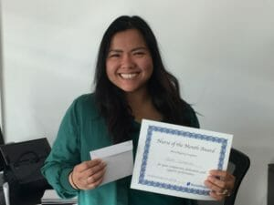 Hazel Cunanan LVN - NurseRegistry Nurse of the Month May 2018