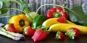 fruits and vgeteables in a vegan diet for arthritis