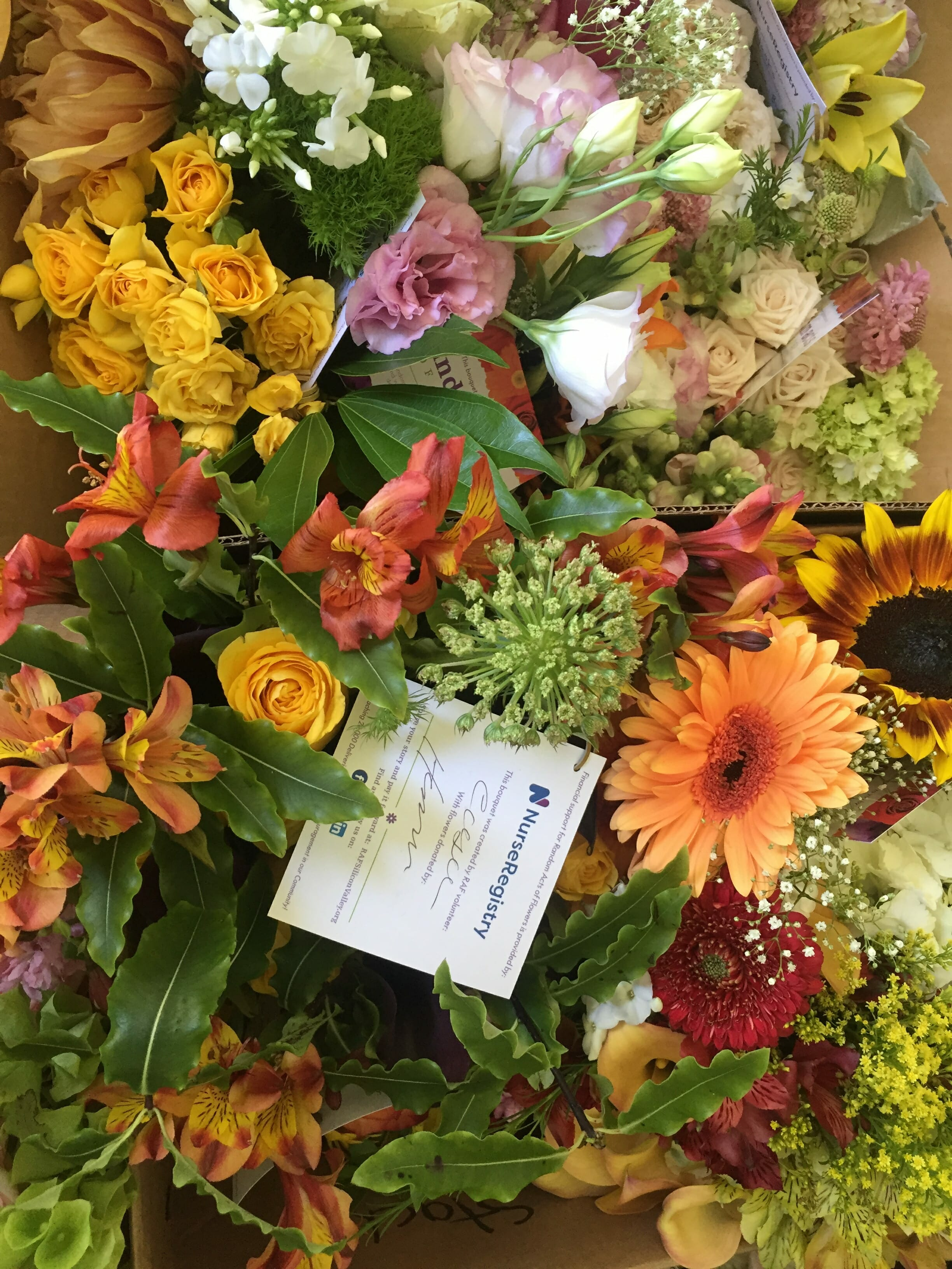 Avenidas Flower donations