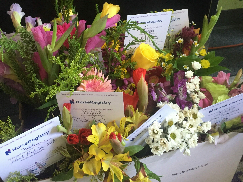 flower donations to los altos subacute and rehabilitation center