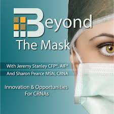 Beyond the Mask CRNA podcast logo