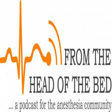 From the Head of the Bed CRNA podcast logo