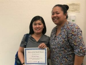 nurse of the month mirasol