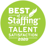 ClearlyRated Best of Staffing Talent Award