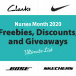 Nurses Week discounts freebies giveaways