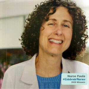 Nurse Paula winner of the 2020 #CelebrateNurses Giveaway