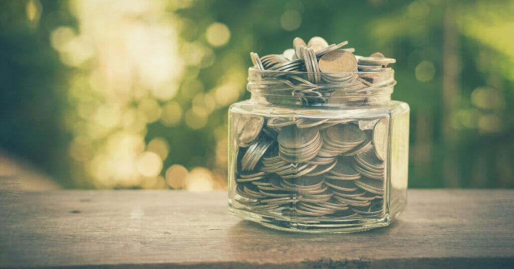 coin jar donations for alzheimer's