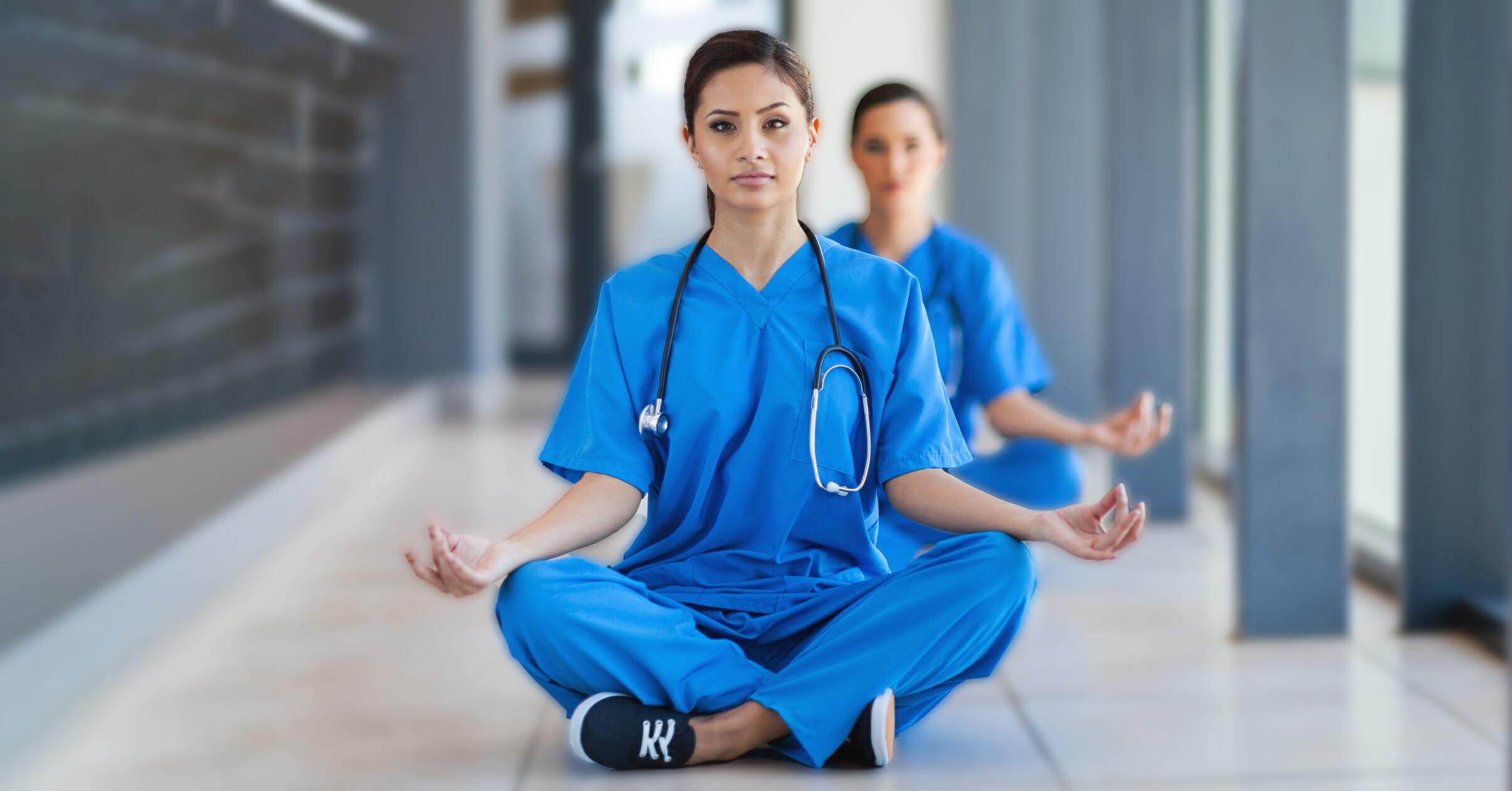 nurse yoga