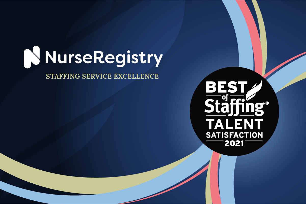 Best of Staffing ClearlyRated Award NurseRegistry 2021