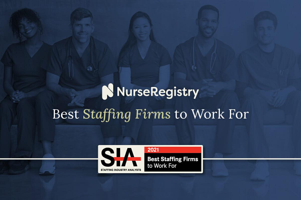 best staffing firm 2021