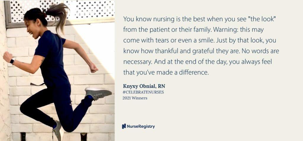 #CelebrateNurses Knyxy Quote