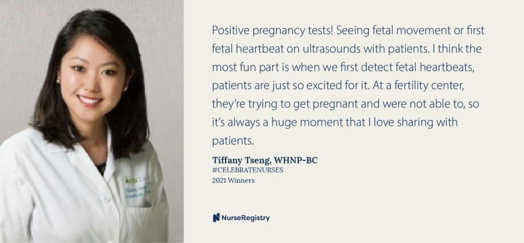 #CelebrateNurses Tiffany Quote
